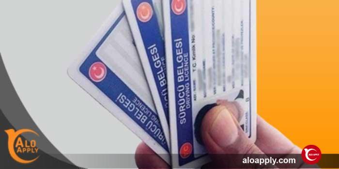 انواع گواهینامه رانندگی ترکیه در سال 2020