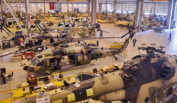 صنایع دفاعی در حال رشد ترکیه