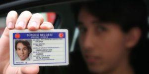 انواع گواهینامه رانندگی ترکیه