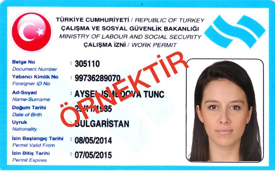 مجوز کار نامحدود در ترکیه