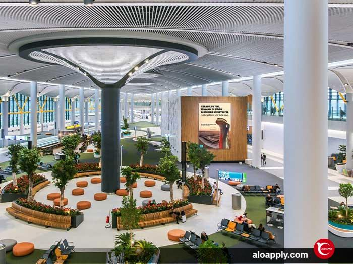 معرفی فرودگاه جدید استانبول