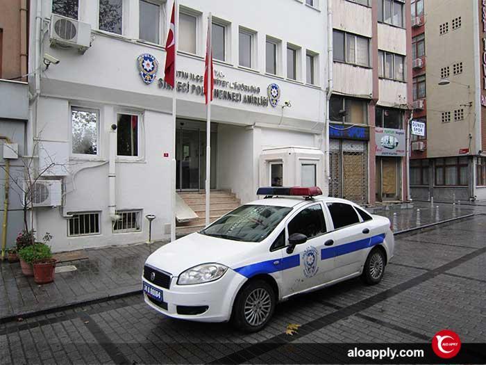 شماره پلیس در ترکیه