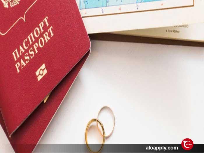 دریافت پاسپورت ترکیه از طریق ازدواج