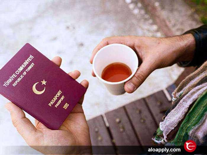 پاسپورت ترکیه ای برای ایرانیان