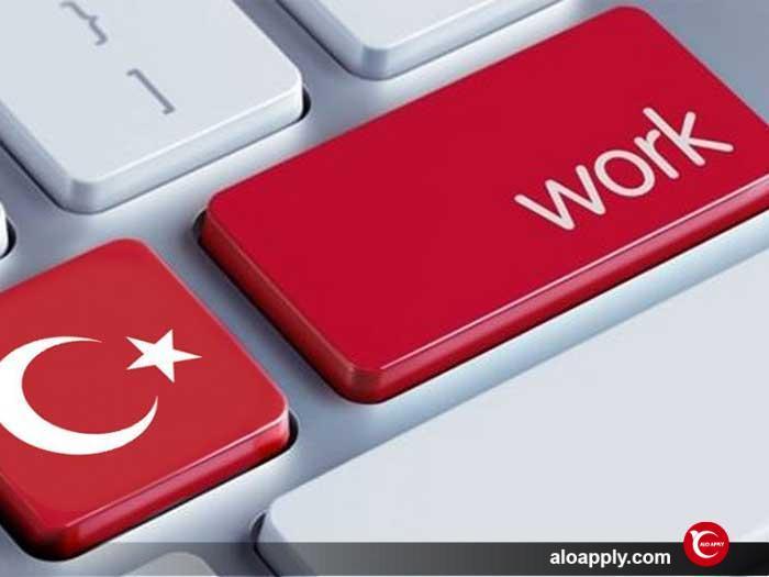 ثبت نام اجازه کار در ترکیه