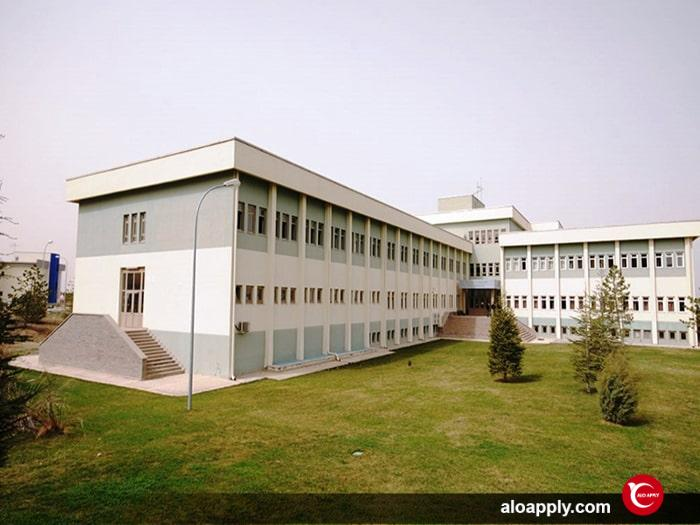 پردیس های دانشگاه حاجت تپه آنکارا