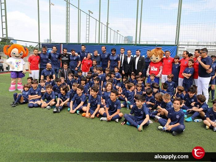 مدرسه ی فوتبال آرسنال در ترکیه