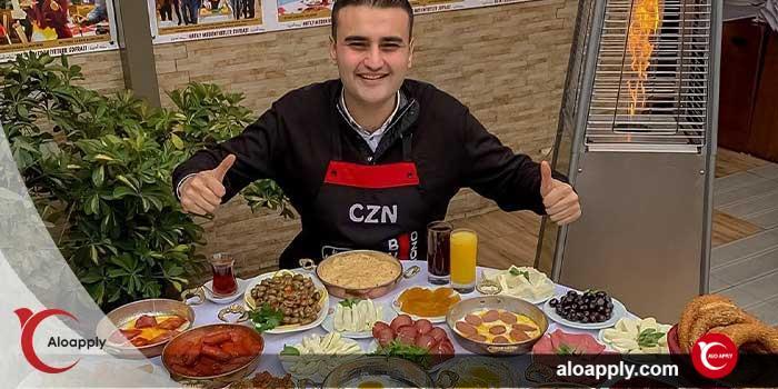 بوراک اوستا آشپز معروف ترکیه