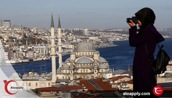 کار با اقامت توریستی ترکیه