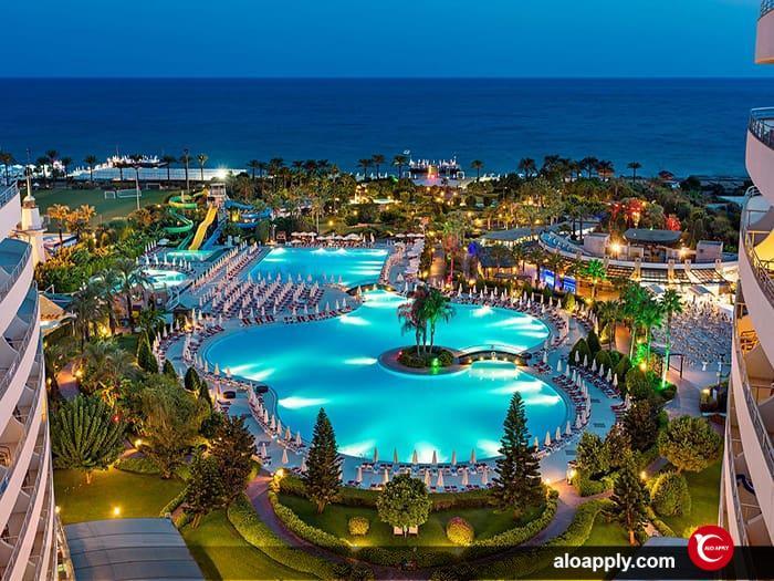 بهترین هتل های آنتالیا در نزدیکی مرکز شهر