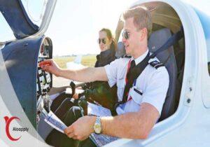 برگزاری دوره های آموزش خلبانی در اکراین