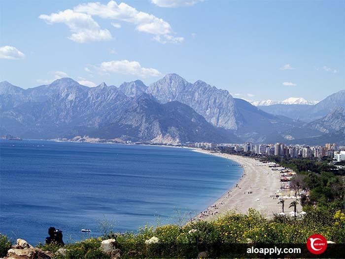 آنتالیا یکی از بهترین شهر در ترکیه برای تحصیل