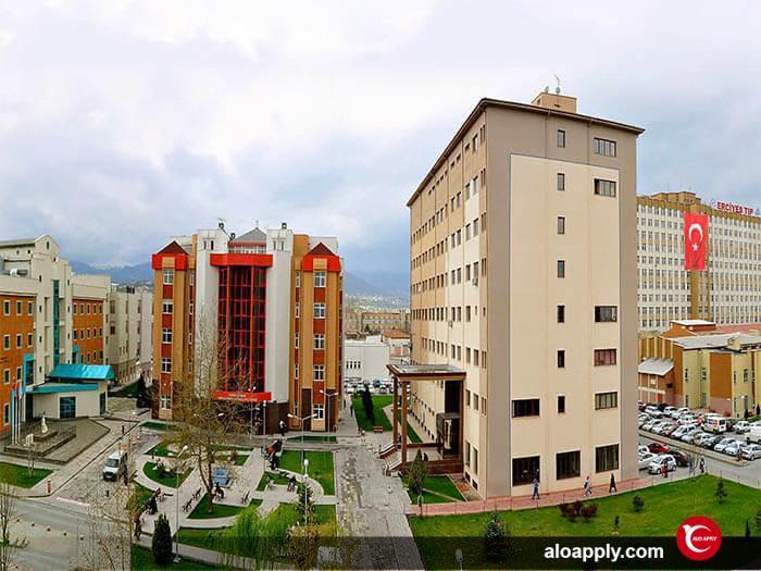 پردیس های دانشگاه ارجیس ترکیه