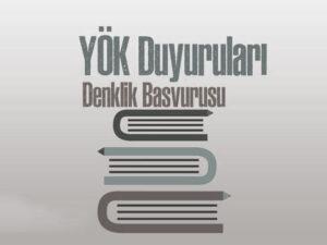 دنکلیک، معادل سازی مدارک ترکیه
