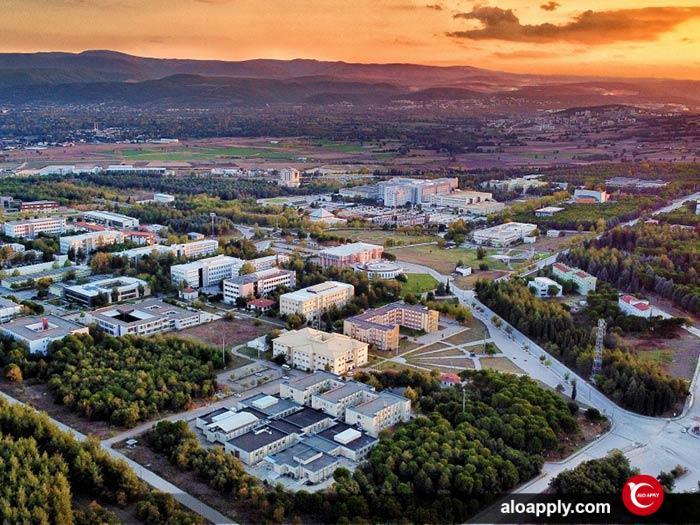 چشم انداز دانشگاه اولوداغ بورسا