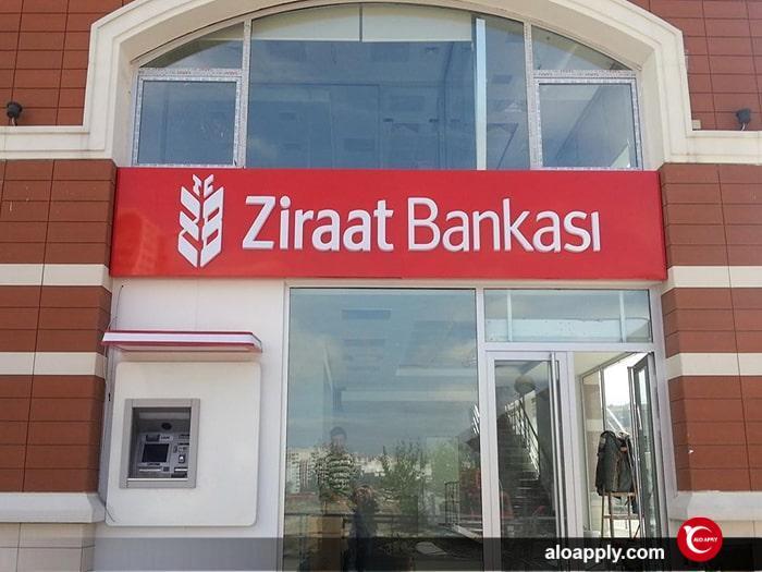 افتتاح حساب بانکی بین المللی در زراعت بانک ترکیه