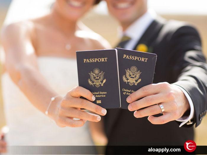 اخذ پاسپورت ترکیه از طریق ازدواج