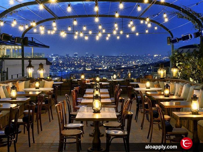 کافه های لوکس استانبول